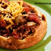 Black Bean Turkey Chili in Yorkshire Pudding
