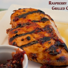 Raspberry Chipotle Grilled Chicken