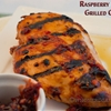 Raspberry Chipotle Grilled Chicken