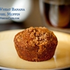 Whole Wheat Banana Streusel Muffins