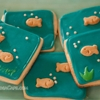 Goldfish Royal Icing Cookies