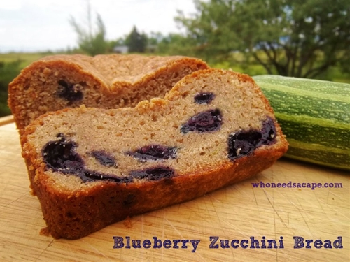 Blueberry Zucchini Bread recipe | Chefthisup