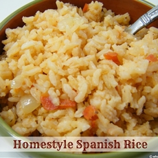 Homestyle Spanish Rice