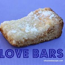 Love Bars aka Gooey Butter Bars