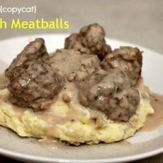{copycat} IKEA Swedish Meatballs