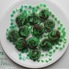 St. Pattys Cream Cheese Brownie Bites