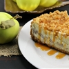 Apple Pie Stuffed Cheesecake 2