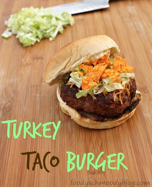 Turkey Taco Burgers