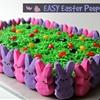 Easy Easter Peeps Cake