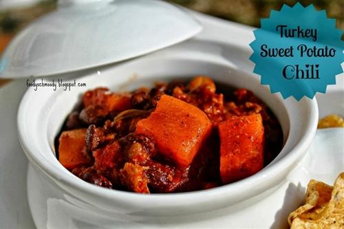 Turkey Sweet Potato Chili (Crockpot)