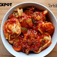 Crock Pot Tortellini Soup