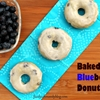 EASY Blueberry Donuts