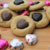 Peanut Butter Cookies w/ Chocolate Love
