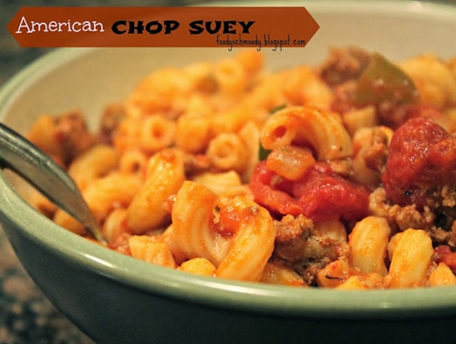 American Chop Suey (or Goulash for non New Englanders)