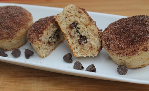 Surprise Snickerdoodle Muffins