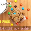 Egg Free Blondies (with M&Ms)