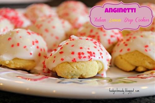 Anginetti - Italian Drop Cookies (lemon flavored)