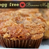 Allergy Friendly Banana Muffins w/ Crunchy Brown Sugar