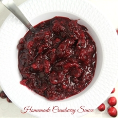 How To Make Homemade Cranberry Sauce
