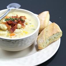 Gnocchi Corn Chowder