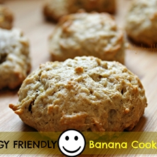 Allergy Friendly Banana Cookies - Foody Schmoody Blog | Foody Schmoody