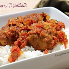 Chicken Curry Meatballs