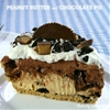 Peanut Butter Cup Chocolate Pie