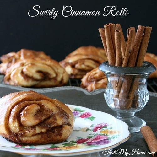 Swirly Cinnamon Rolls
