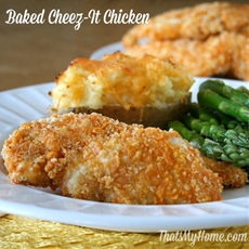 Baked Cheez-It Chicken