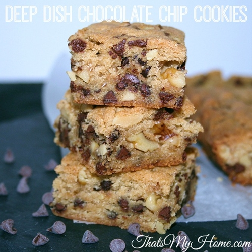 Deep Dish Chocolate Chip