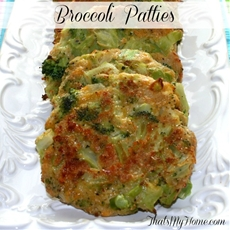 Broccoli Cheese Patties