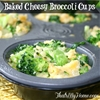 Baked Cheesy Broccoli Cups