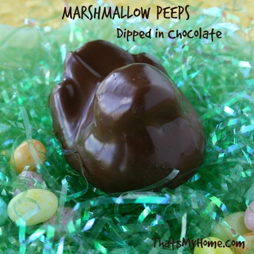 Chocolate Marshmallow Peeps