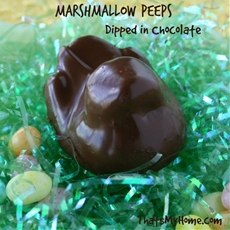 Chocolate Marshmallow Peeps