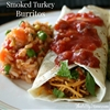 Smoked Turkey Burritos