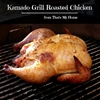Kamado Grill Roasted Chicken