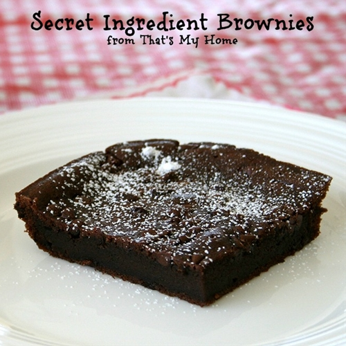 Secret Ingredient Brownies