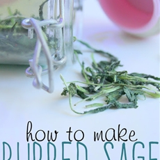 How to Make Rubbed Sage with a Plantui Smart Garden