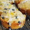 Blueberry Coconut Muffins and Swirled Pudding
