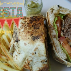Tortilla-Wrapped Fiesta Mexican Burgers | Anyonita Nibbles