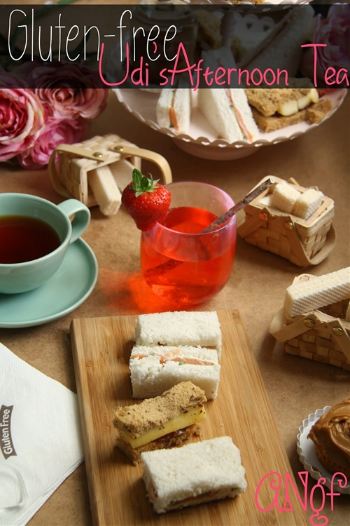 Gluten Free Afternoon Tea with Udis