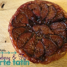Blueberry & Fig Tarte Tatin