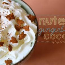 Nutella gingerbread cocoa
