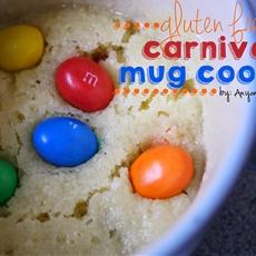 Gluten Free Carnival Cookie in a Mug