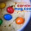 Gluten Free Carnival Cookie in a Mug