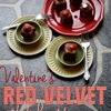 Valentines Red Velvet Petit Fours