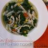 Gluten Free Chicken & Kale Noodle Soup