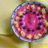 Gluten Free Strawberry & Blueberry Smoothie Bowl