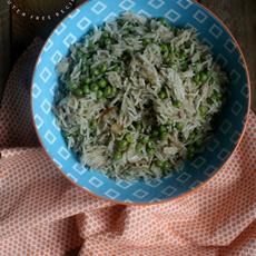 Gluten Free Vegan Peas Pilau Rice