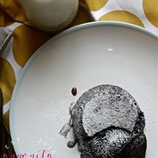 Gluten Free Dairy Free Chocolate Lava Cake